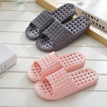 Bathroom Slippers Female Summer Non-slip Bath Plastic Home Slipper Couple Indoor Thick Soft Sandals and Slippers women summer non slip bathroom slippers female indoor home soft bottom slippers unisex lovers couples slipper gifts