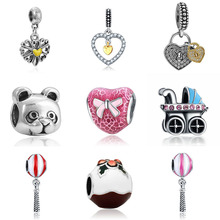 DIY  bracelet beads mary poppins silver bijoux en argent 925 jewelry bijoux joyas de plata witchcraft sieraden charms цена