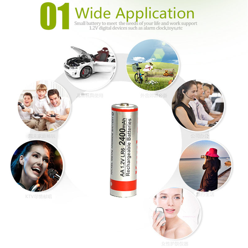 8Pcs/2 lot Battery AAA 1.2V 900mah Ni-MH Pre-charged Rechargeable Batteries 3A for Flashlight batteries Camera Orthodox Easter