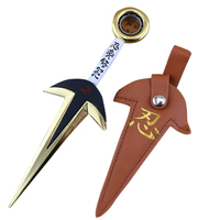 The Fourth Hokage Yondaime Minato Kunai Knife Weapon Outdoor Toy New Uzumaki Naruto Hokage Cosplay Weapon
