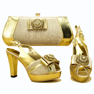 African aso ebi shoes and bag