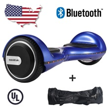 Hoverboard Megawheels 6.5-inch Self Balance Scooter 2 Wheels Overboard Scooter Electrico US Warehouse Free UPS Shipping (Blue)