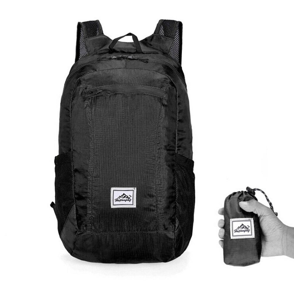 Gonex 35 L Ultralight Sac à dos pliable à nylon 210D Sport Sac pour extérieur