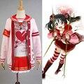 LoveLive! Dia Dos Namorados do amor Ao Vivo Yazawa Nico Uniforme Halloween Natal Cosplay Traje Para As Mulheres Meninas