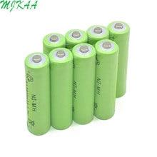 2019 Ni-MH 1.2V 3800mAh Green AA Rechargeable Nickel-metal Hydride Battery 14mm*50mm gp batteries nickel metal hydride series 970 mah