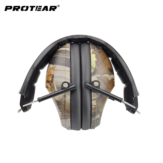 NRR 27dB אוזן הפחתת רעש אוזן הגנת רעש אוזן מופס ירי שמיעה הגנה אקדח טווח ירי רעש חזק