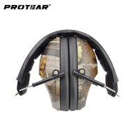 NRR 27dB Ear Plugs Noise Reduction Ear Protection Noise Ear Muffs Hunting Hearing Protection Gun Range