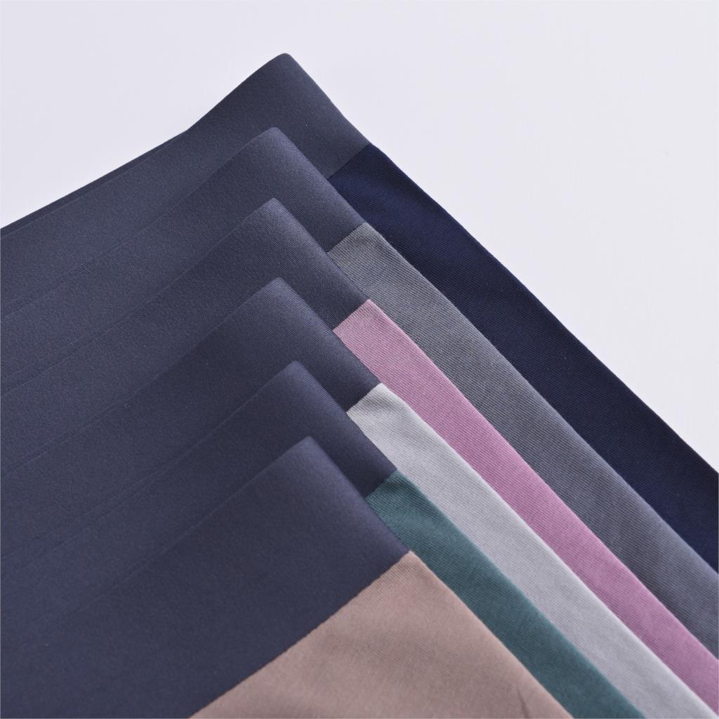 Men's underwear, boxers, comfortable texture, solid color men's underwear