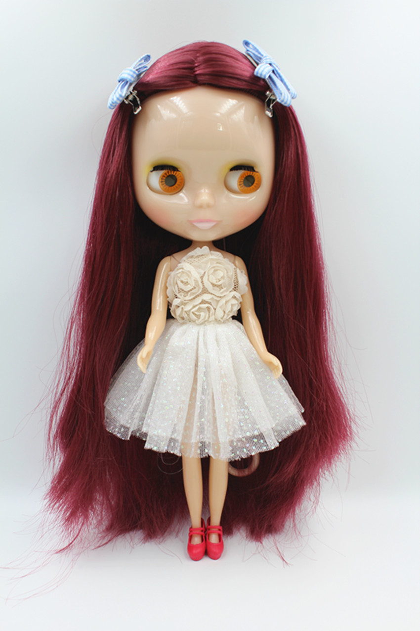 Blygirl Doll Jujube red hair Blyth Doll body Fashion Can refit makeup Fashion doll White skin 2015 new delicious wild zizyphus jujube in shanxi 200 g red dried fruits candied jujube leisure cocktail snacks free shipping