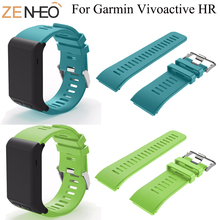 Watchbands Replacement Smart Bracelet Strap For Garmin vivoactive HR Smart Watch Band Strap Wristband For Garmin vivoactive HR origianl garmin vivoactive hr smart watch bluetooth 4 0 waterproof smartwatch heart rate monitor wristband gps