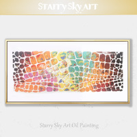 Special Design Artist Pure Hand painted Modern Wall Art Beautiful Knife Painting Textured Knife Painting Pictures for Wall Decor