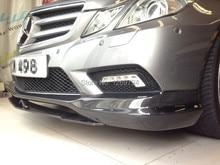 W207 C207 Carbon Fiber Front  Lip  Spoiler C207 For E Class E260 E300 E350  W207  Coupe (10-13) Of The CS Style