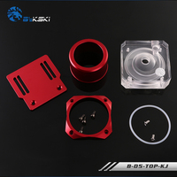 POM/PMMA Acrylic Cover Pure Aluminum Stent Water Cooler Pump Cover for D5 Serise Pump Computer Water cooling B D5 TOP KJ