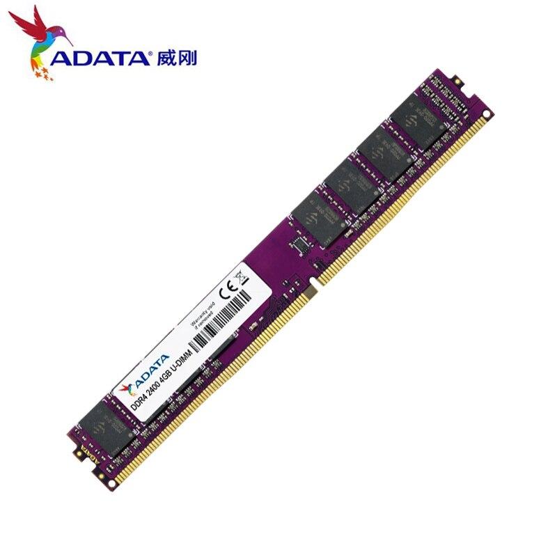 100% New Original ADATA 4 gb 8 gb RAM DDR3 2400 hz béliers Pour PC De Bureau Haute Performance garantie À Vie