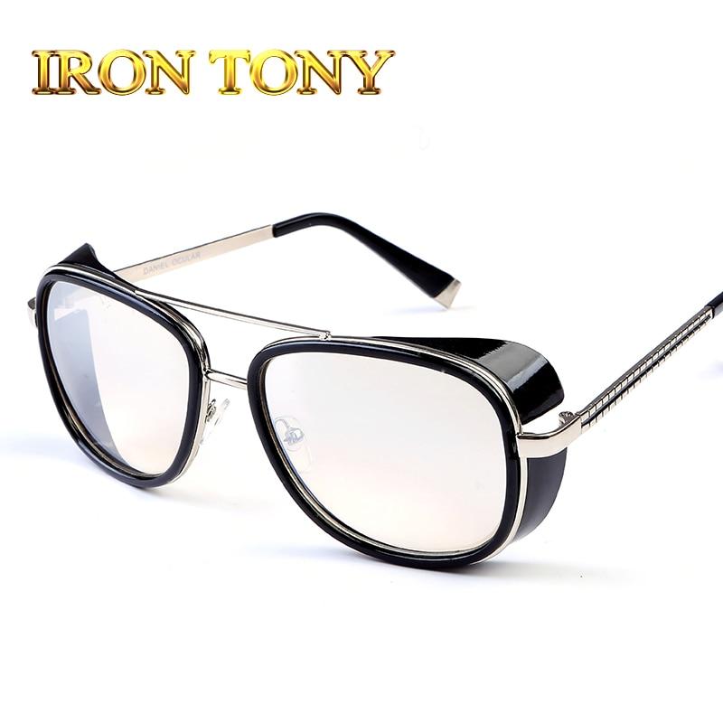 b52b69fd454 Iron Man 3 RAY TONY Matsuda Sunglasses Men Coating Steampunk Men Vintage  Brand Designer Sun glasses Oculos Masculino Gafas C61-in Sunglasses from  Apparel ...