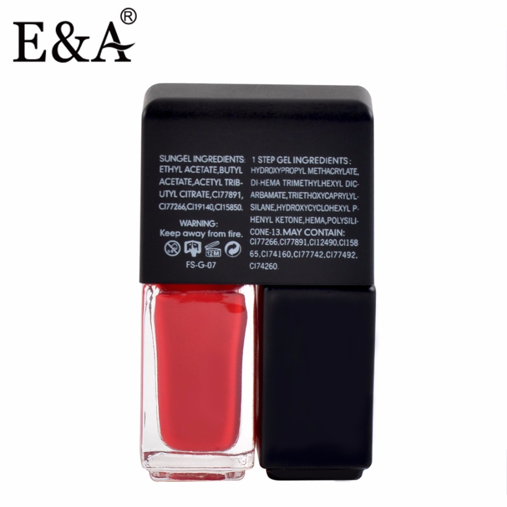 EA 4ml Twins Nail Polish Маникюр мен педикюр - Маникюр - фото 3