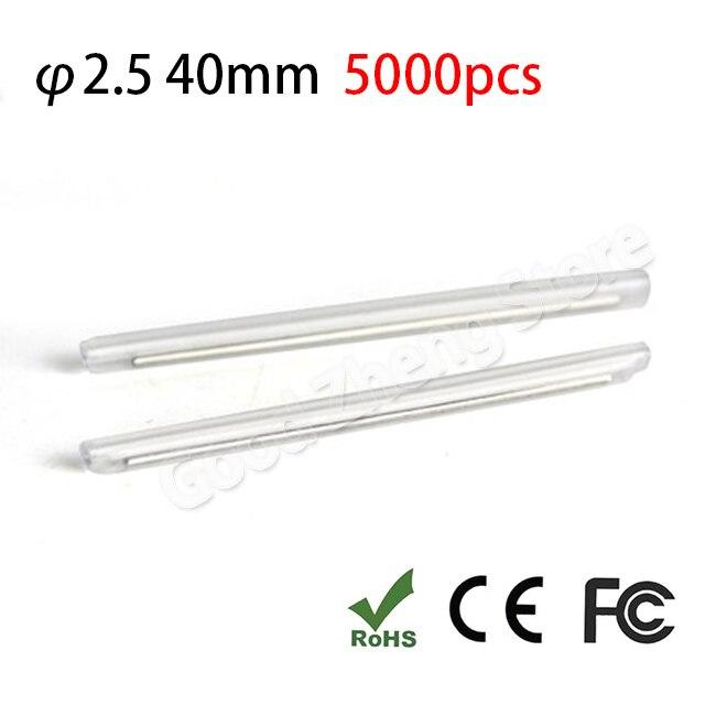 5000pcs 40mm Fiber optic fusion splice protection sleeve heat shrink sleeve