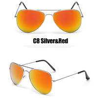 C8 Silver Red