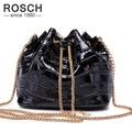 2016 Summer New Fashion Women Bucket Bag Crocodile Chain Female Messenger Hand Bags Mini Black Brand Crossbody Handbags Clutch