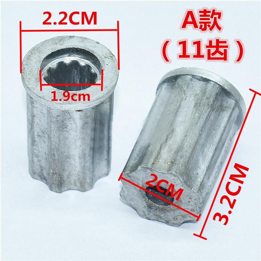 US $1 25 |1PCS Washing machine parts wave wheel core pulsator repair core  center gear leaf water metal axis repair dial iron core-in Bearings from