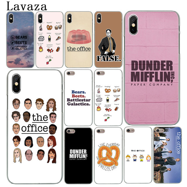 new arrival c3800 f3e37 US $1.47 22% OFF Lavaza TV the office cast meme Hard Cover Case for Apple  iPhone X XS Max XR 6 6S 7 8 Plus 5 5S SE 5C 4S 10 Phone Cases-in ...
