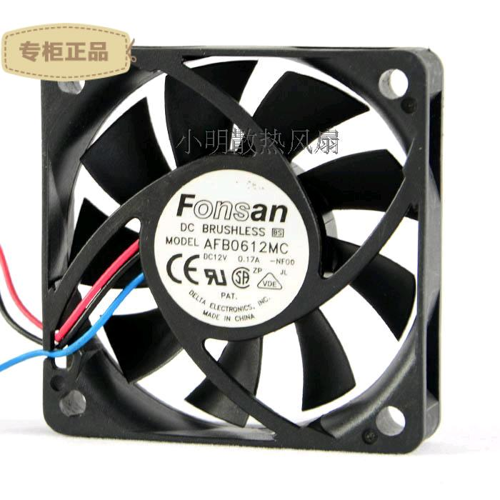 Free Delivery. 6013 AFB0612MC 12 v 0.17 A 6 cm CPU cooling <font><b>fan</b></font> <font><b>60</b></font> * <font><b>60</b></font> * 13 <font><b>mm</b></font> image