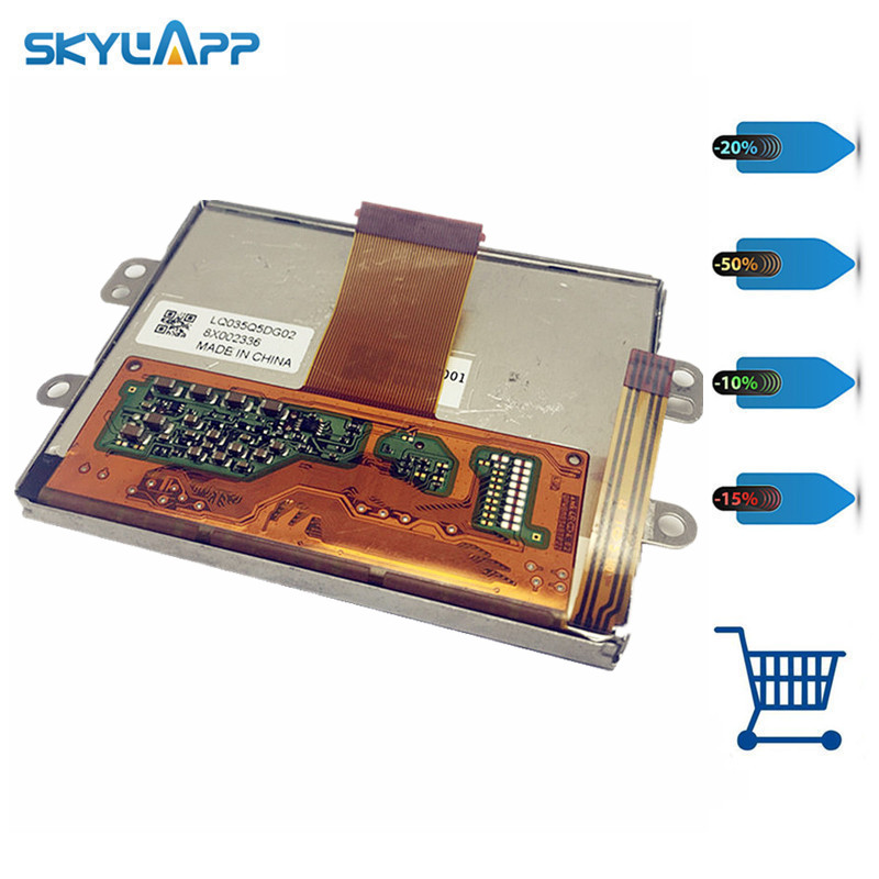 Skylarpu LCD display panel for LQ035Q5DG02 8X002336 8X14A001 00119 QPW8M0348TPZZ (without touch) Free sipping