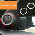 Front Seats Up Speaker Box Bezel Trims Decoration 2pcs/set For Jeep Grand Cherokee 2011 2012 2013 2014