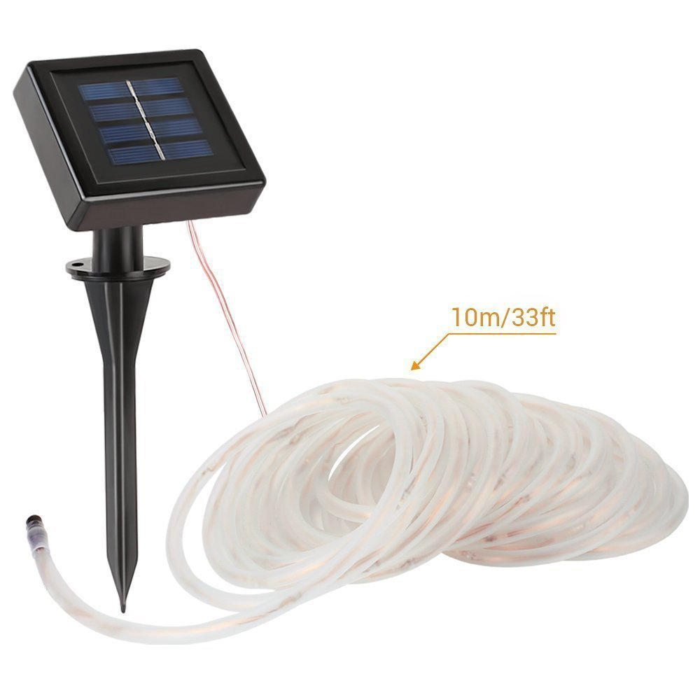 10m 3v Led Garden Solar String Lights Outdoor Waterproof For Decoration Blink Color Changing Party In From