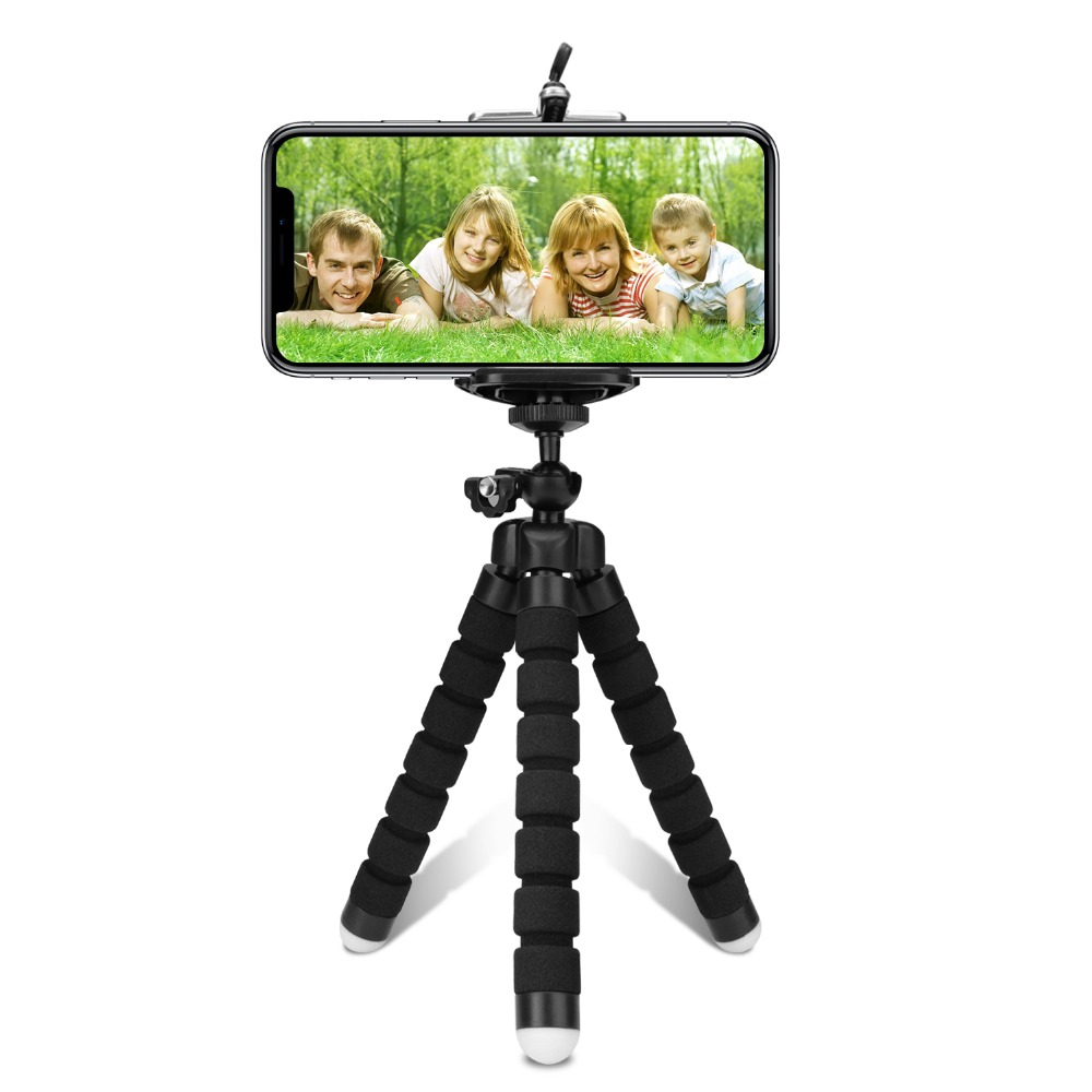 Tripod for phone tripod monopod selfie remote stick for smartphone iphone tripode for mobile phone holder bluetooth tripods (21)