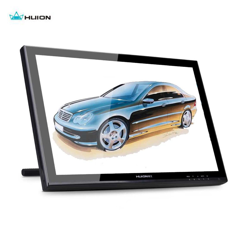 Huion GT 190 19 USB Digital Monitor Stift Tablet Monitor LCD Display Touchscreen 5080 LPI Professionelle Animation Zeichnung Bord