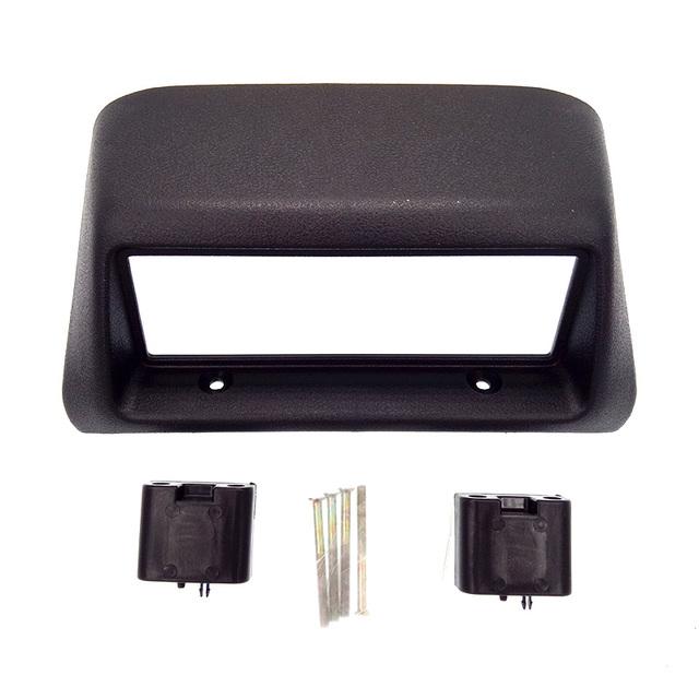Qualidade superior quadro painel fascia rádio para mitsubishi lancer 1996-1997 fascia stereo traço instalação guarnição kit frete grátis