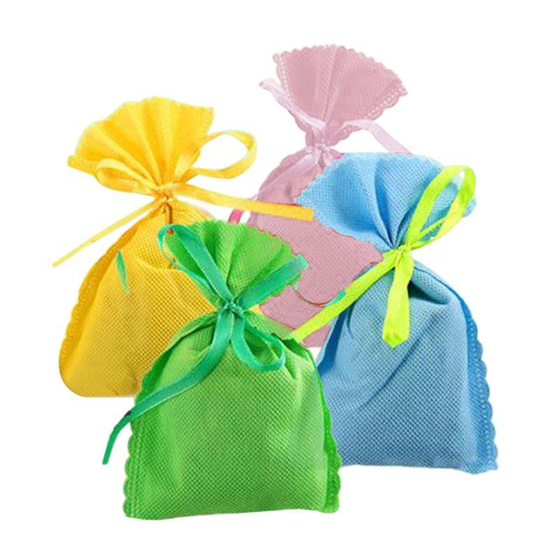 Mini Natural Air Purifying Bamboo Charcoal Bag Freshener Deodorizer Random Color