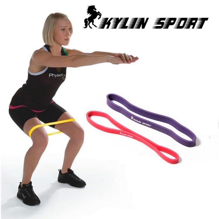 rød og lilla kombination pull up assisterende bands øvelse krop ankel fitness resistens loop band til engros