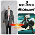 Super Danganronpa 2 Nagito Komaeda Nagito Army Green Color Jacket ONLY Cosplay Costume Custom Made with Two Fake Pockets