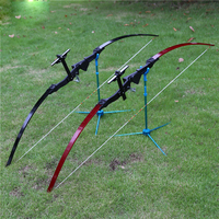 Archery 18 40 lbs Recurve Bow Powerful Carbon Fiberglass Arrows Outdoor Hunting Shooting Bow Target Shooting Games HW116