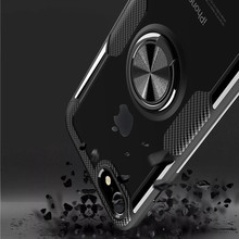 For Cover Iphone 7 Case/cases Car Holder Case Phone Magnetic Adsorption Clear Covers