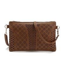 2016 nouveaux sacs de mode sacs à main femmes célèbre designer de la marque évider messenger sac bandoulière femmes bourse d'embrayage bolsa femininas