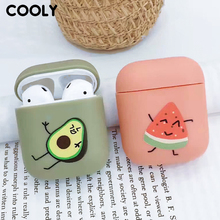 COOLY Cartoon Silicone Bluetooth Earphone Case For Apple AirPods Charging Bag Wireless Earphone Protective Cover Cute Coque Capa