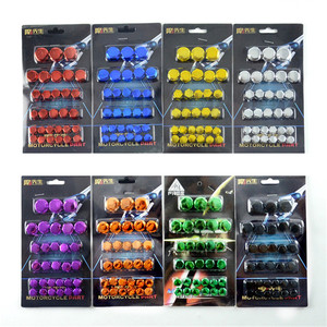 pit bike nuts motorbike engine frame decal scooter screw cap cover for honda yamaha KTM moto bolt decal motorcycle accessories