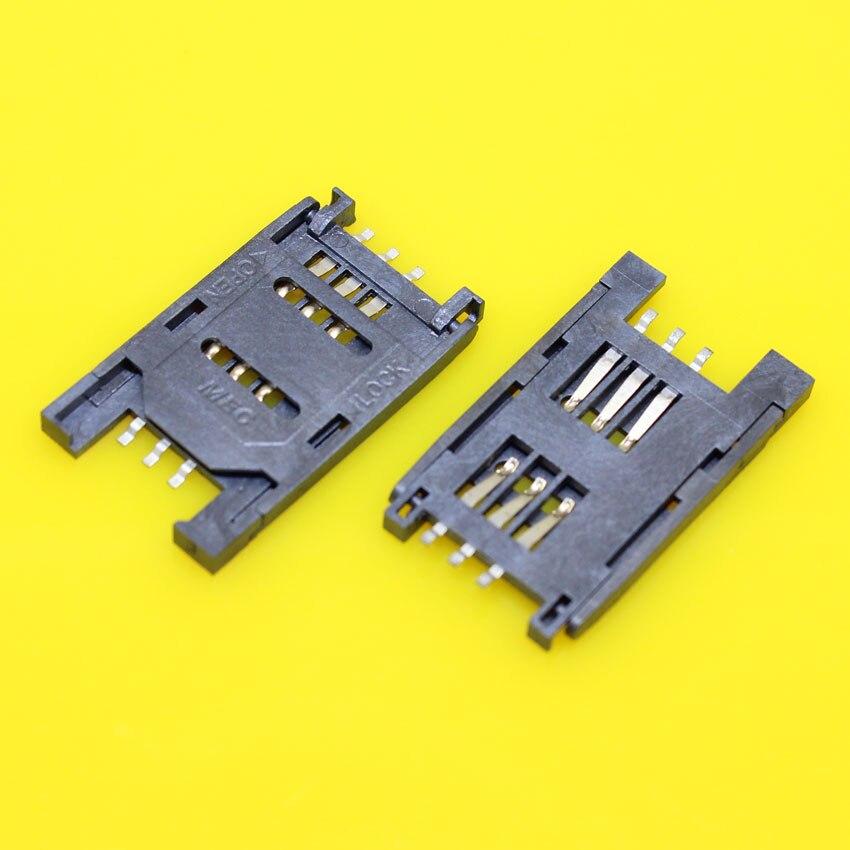 cltgxdd KA-112 Best price Brand New 6pin sim card reader socket tray slot using the heat-resisting material