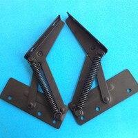 Free Shipping Supporting Hinge Cabinet Hardware Fittings Turning Woodworking Hardware Fittings Hinge Thickening Black Hinge