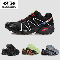 Salomon Speed Cross 3 Men's outdoor sport sneakers Athletic comfortable Solomon male jogging shoes Running Shoes High Quality