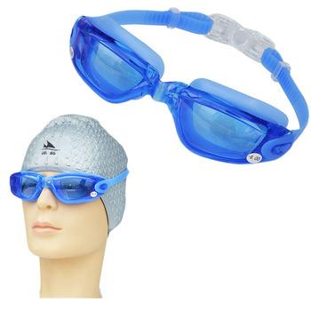 Krótkowzroczność-2 0 do-6 0 okulary pływackie silikonowe Anti-fog okulary pływackie gogle pływackie krótkowzroczność-4 0 mężczyźni kobiety Surfing okulary do nurkowania tanie i dobre opinie Pływać MULTI Z tworzywa sztucznego 40mm 50mm RS-SG18 Myopia Anti Fog Swimming Goggles