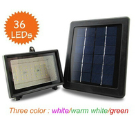 36LED Outdoor Solar Garden Lawn Light Solar Power LED Spot Lighting Solar Flood LED Path Wall