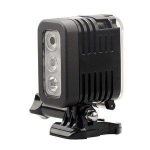 Image 2 - JINSERTA 30M Waterproof LED Flash Fill Light Spot Lamp for SJCAM Xiaomi Yi GoPro HERO5 HERO4 Session SJ4000 Camera Accessories