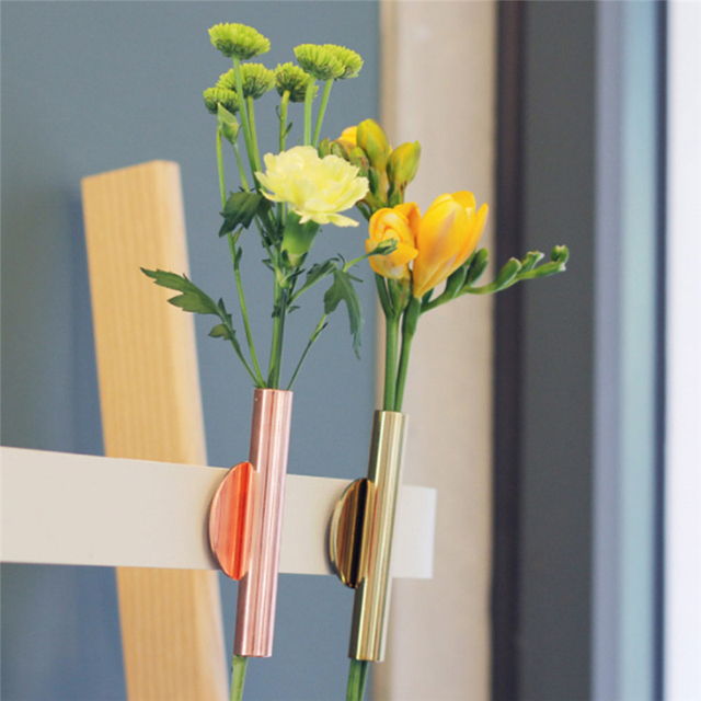Vase Abstract Minimalist Abstract Iron Vase Dried Flower Vase Racks Nordic flower ornaments Home Party Decoration