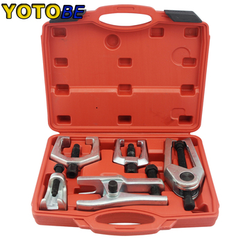 5 in 1 Front End Service Tool Kit Ball Joint Tie Rod Pitman Arm Puller Removers Press Type Ball Joint Separator Car Repair Tools