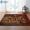 3D деревянные коврики для гостиной  спальни  креативные декоративные коврики для дома  мягкий фланелевый ковер и ковер для гостиной