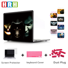 4 in1 Crystal Transparent Case Shell Protector Cover skin plug for Macbook  Air 11''Air 13'' Pro 13'' Pro 15'' Retina 13'' 15''  все цены